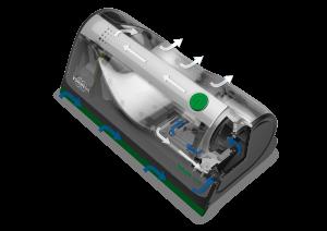 VG100 läpileikkaus